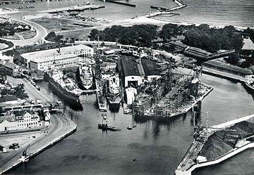 Elsinore Shipyard 1938