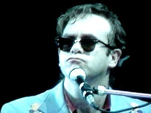 Elton John in the 1980s
