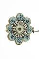 Emaljerad baksida på smycke - Livrustkammaren - 97929.tif