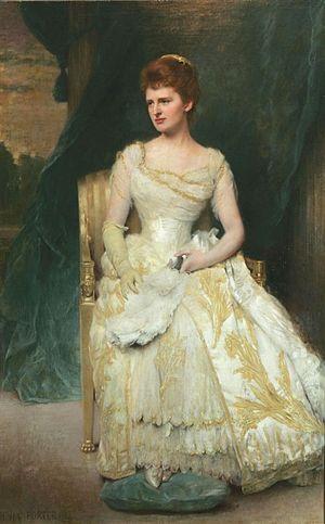 Emily Thorn Vanderbilt - Mrs. William Douglas Sloane (Emily Thorn Vanderbilt) by Benjamin Curtis Porter