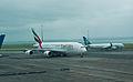 Emirates A380, Auckland, 27th. Dec. 2010 - Flickr - PhillipC (1).jpg