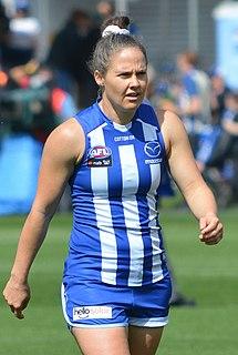 Emma Kearney (sportswoman) Australian rules footballer and cricketer