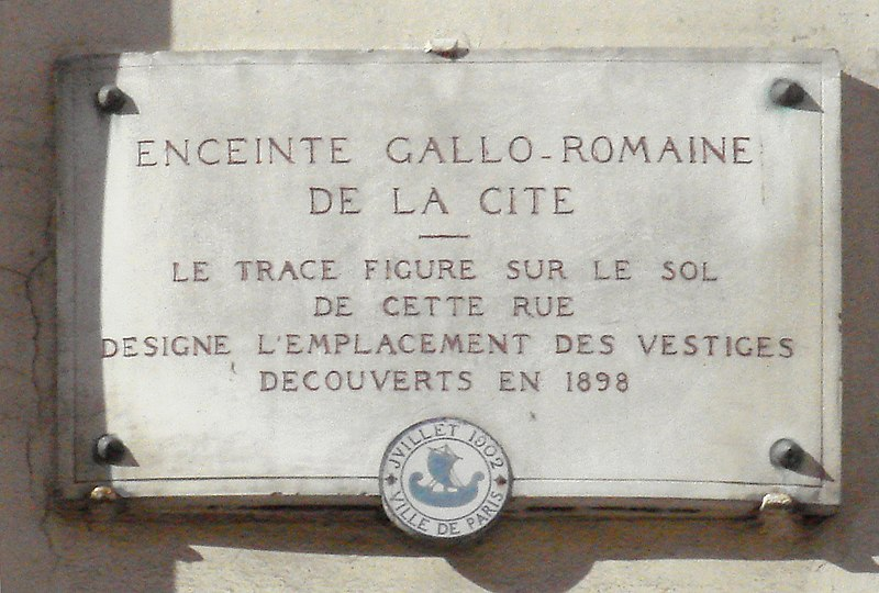 Fichier:Enceinte Gallo Romaine de Paris.jpg