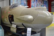 English Electric Canberra T.17A nose (WH646) (23387250739).jpg