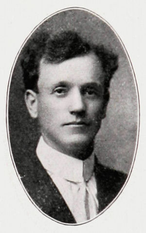 Enoch J. Mills - Mills pictured in The Round Up-1911, Baylor yearbook