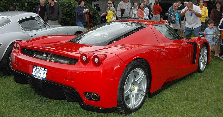 Enzo Ferrari (bilmodell) – Wikipedia