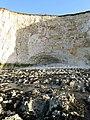 Eroded Cliff Base, Telscombe Cliffs - geograph.org.uk - 1204771.jpg