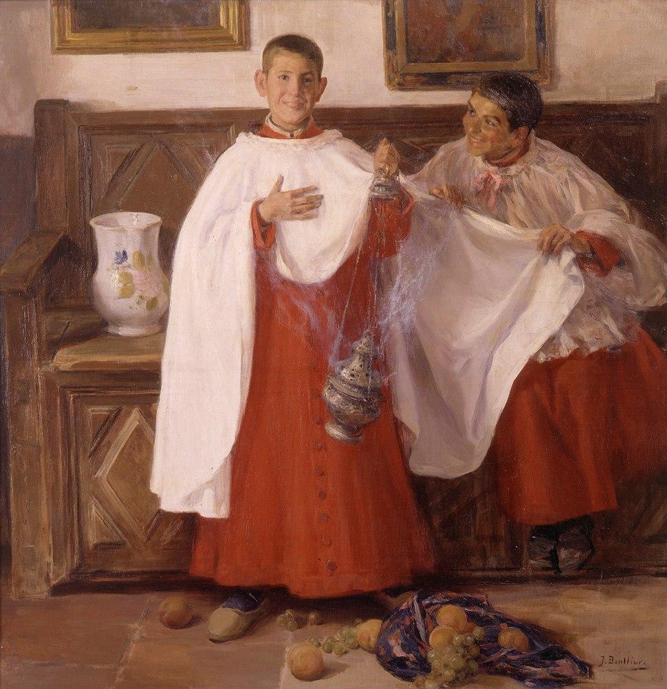 Escolanets, Josep Benlliure i Gil, Museu de Belles Arts de València