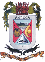 Coat of arms of Armería