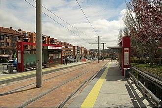 Boadilla Centro (Madrid Metro) - Image: Estación de Boadilla Centro