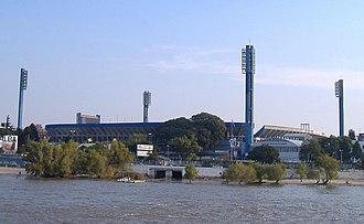 1987 Copa América - Image: Estadio Gigante de Arroyito