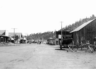 Estes Park, Colorado - Main Street, 1912