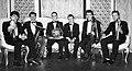 Estonia Brass. Andres Peetson, Toomas Midri, Kalle Koppel, Teet Õunap, Peeter Margus ja Jaak Vasar 92.jpg