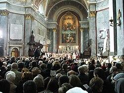 Esztergom - Meszlényi beatification 4.JPG