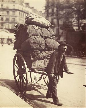 Ragpicker - A rag-picker in Paris, ca, 1899 - 1901.