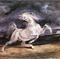 Eugène Delacroix - Horse Frightened by a Storm - WGA6233.jpg