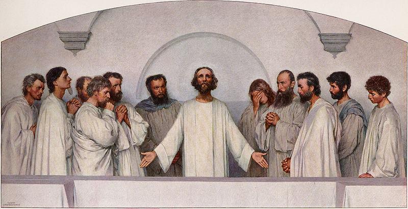 File:Eugene Burnand - Das hohepriesterliche Gebet.jpg