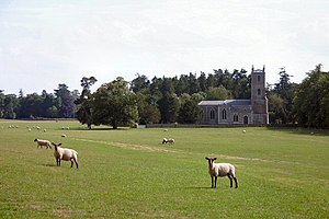 Euston, Suffolk - The Church of St Genevieve, Euston
