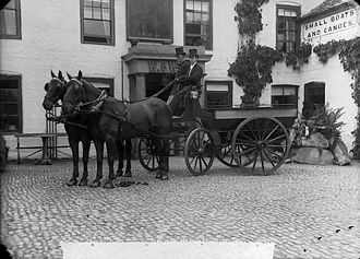 Brake (carriage) - A brake (carriage)