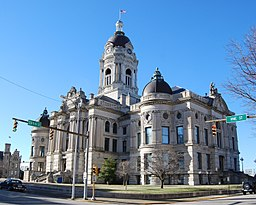 Old Vanderburgh County Courthouse i Evansville.