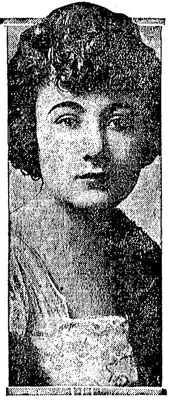 Evelyn Greeley - Evelyn Greeley in 1922.