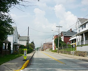 Everson, Pennsylvania - Brown Street