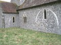 Evidence of building alterations at All Saints, East Dean - geograph.org.uk - 1145108.jpg