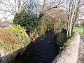 Ewenny River flows towards Penybont Road, Pencoed - geograph.org.uk - 4387769.jpg