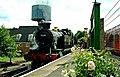 Ex-GWR tank engine 5224 taking water at Alton - geograph.org.uk - 1415787.jpg