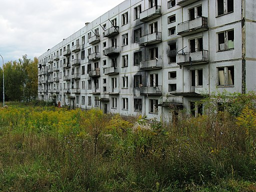 Ex-Soviet housing in Milovice, CZ