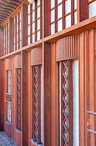 Ex Police Station Oranjestad @ Front door.jpg