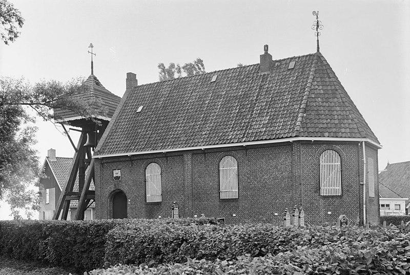 Kerk van goingarijp met klokkenstoel in goingarijp for Exterieur kelder