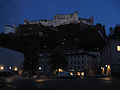 Exterior of the Festung Hohensalzburg-Night.jpg