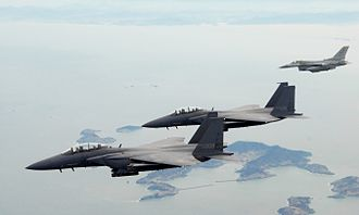 Republic of Korea Armed Forces - ROKAF F-15K strike fighters
