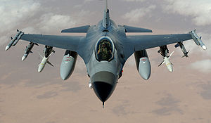 General Dynamics F-16 Fighting Falcon variants - USAF F-16C