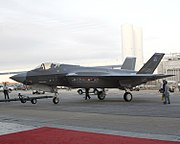 F-35A - Inauguration Towing