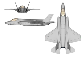 F35B3面図wikipediaより