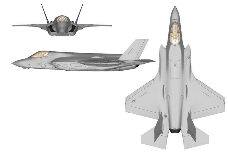 F-35のB。海兵隊型。