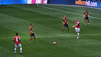 2014 FA Cup Final - Arsenal enjoyed 65% of possession during the course of the match.