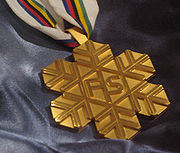 FIS World Ski Championships Gold Medal