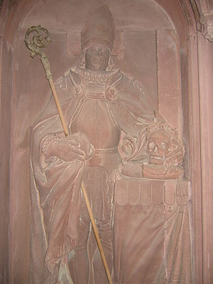 Rudolf of Zähringen - Sculpture of Rudolf of Zähringen