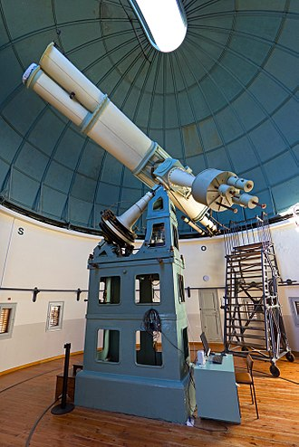 Fabra Observatory - Image: Fabra Observatory Refractor