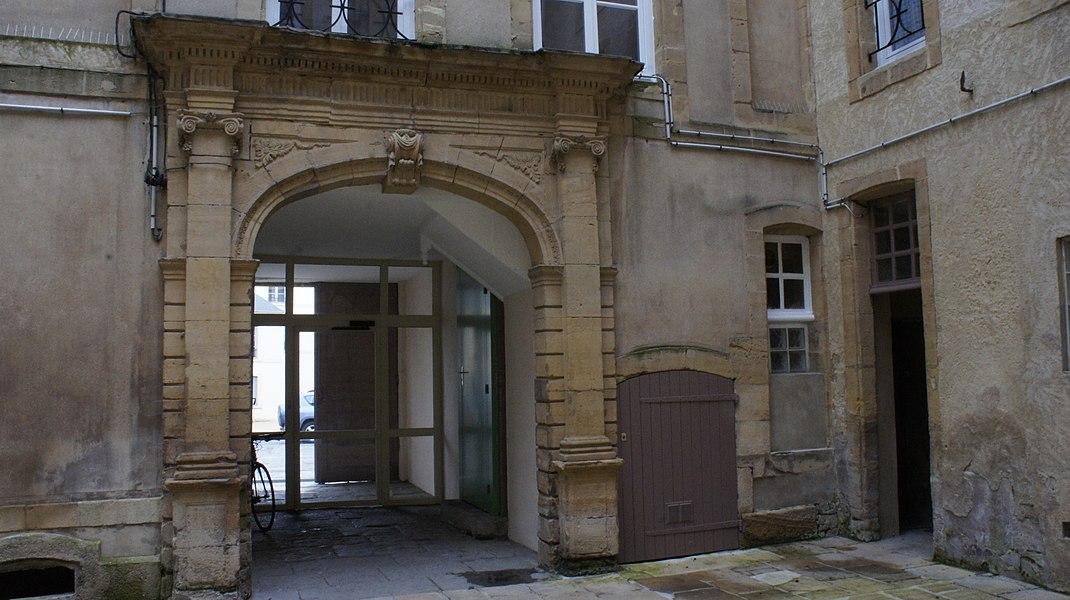 Fabrique Jean Labauche, angle des rues Turenne et Voyard, inscription à l'inventaire général des monuments historiques.