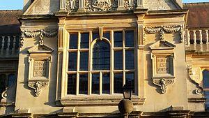Dominus illuminatio mea - Faculty of History, University of Oxford motto