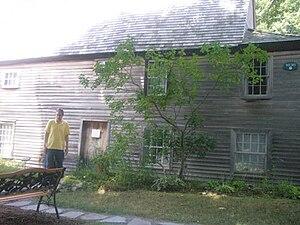 Fairbanks House (Dedham, Massachusetts) - Image: Fairbanks house in Dedham, Massachusetts, USA