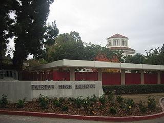 High school in Los Angeles, California