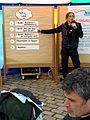Familienkonferenz Hannover Nordstadt 151b3b Jens Zussy, Dipl.-Sozialarbeiter, Sozialpädagoge, moderiert das Worldcafé.jpg