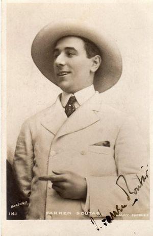 Farren Soutar - Farren Soutar in about 1904