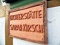 Fassadenschild Pfarrhaus Limlingerode.JPG