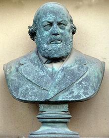 Anton Werres: Büste Ferdinand Hillers (Quelle: Wikimedia)